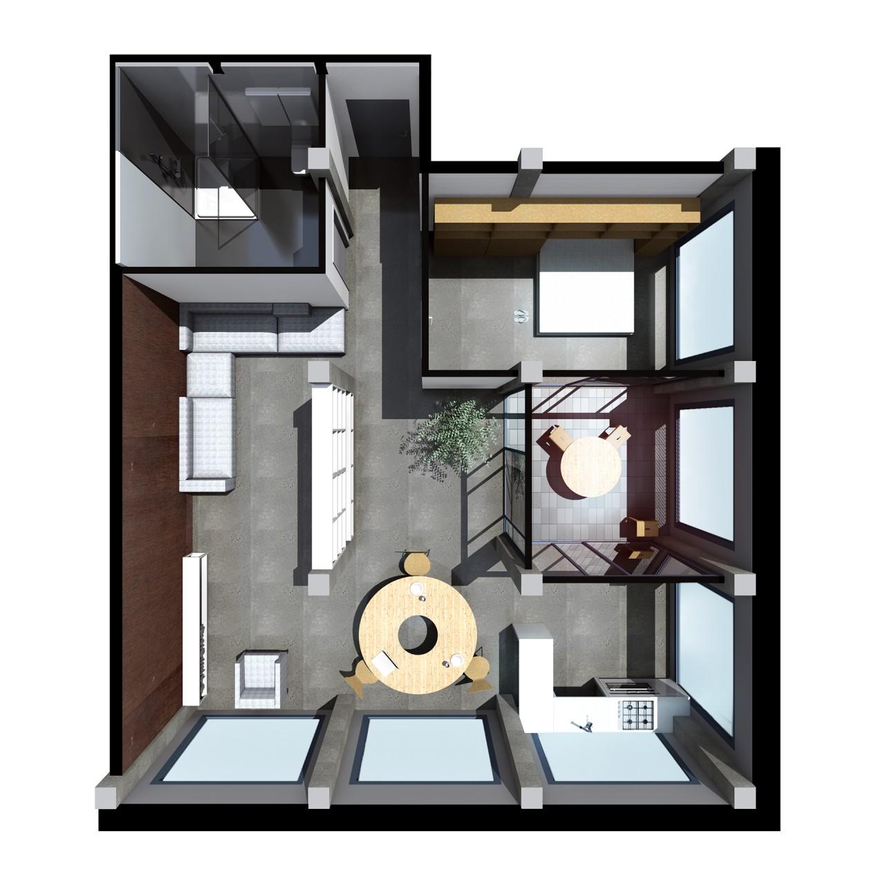 tip apartament