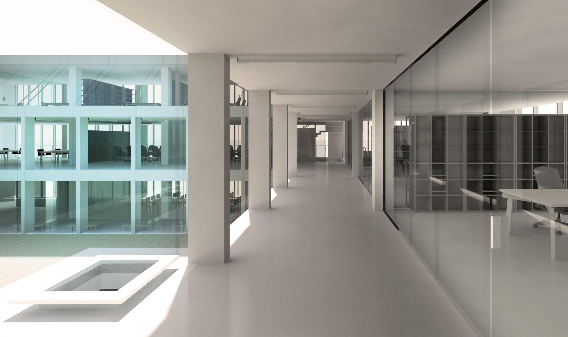 Interior, Etaj 1, Hol