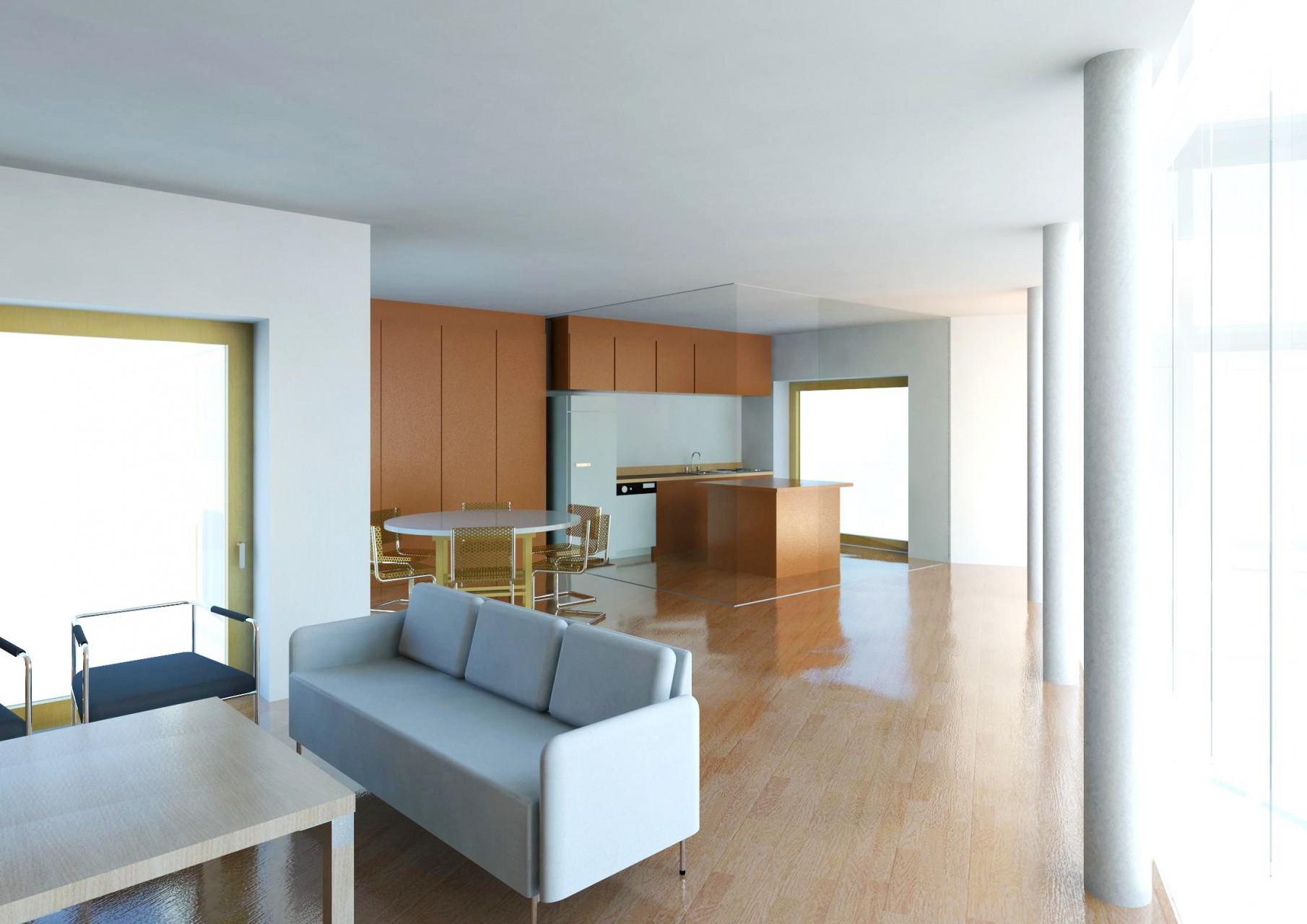 Interior, Apartament Mare Living