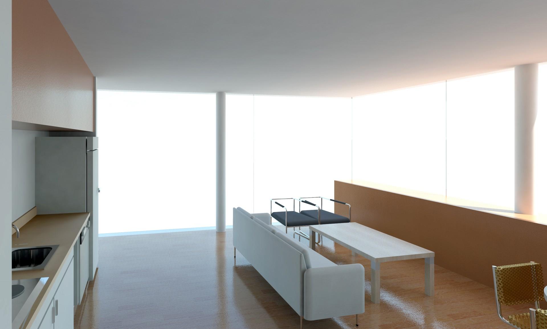 Interior Living Apartament Mic